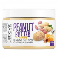 OstroVit Peanut Butter + Honey 500 грам