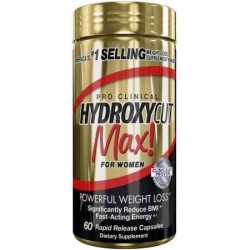 Hydroxycut Max for Womens 60 капсули