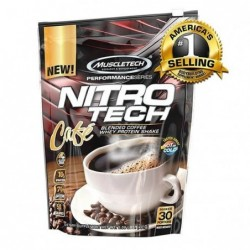 Muscletech nitro tech cafe 30 порции